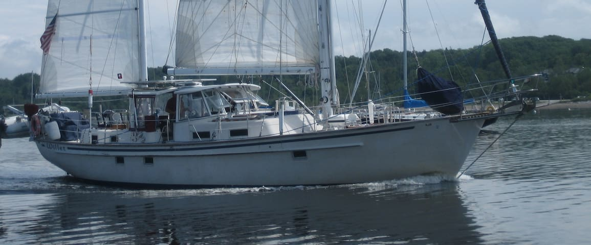 "Sailing Vessel ""Willet"" 48' Ketch - Wilmington - Barco"
