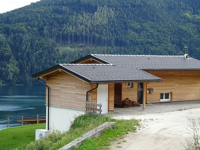 Luxury home overlooks Lake Millstat - Döbriach - House