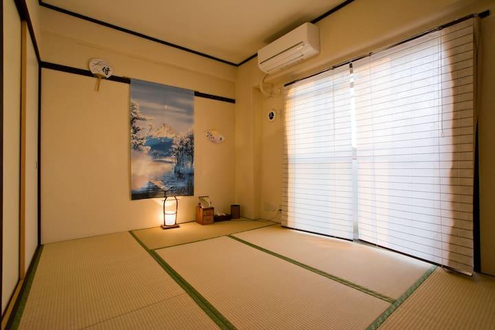 Peaceful Downtown Room 19min from Ikebukuro - Itabashi-ku - Apartment
