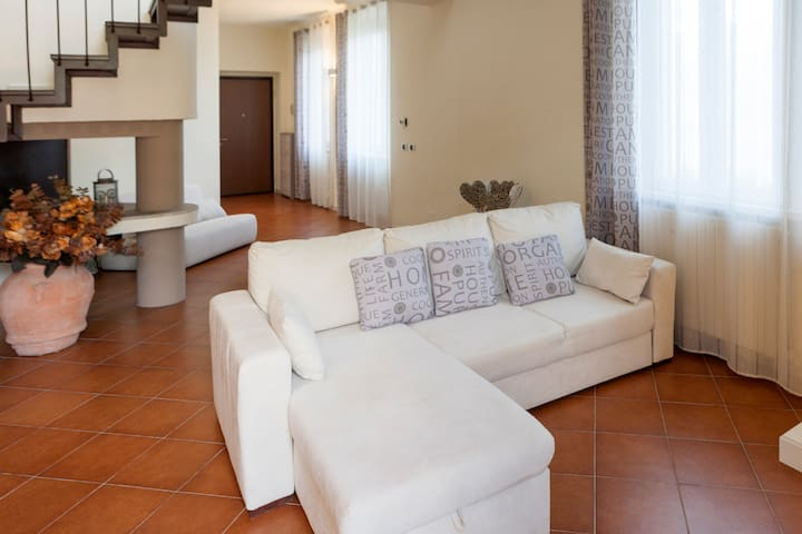 Lago di Como - casa con terrazzo - Faggeto Lario - Appartement