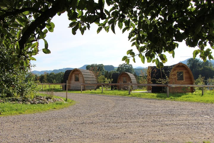Ruhe und Erholung auf dem Bauernhof