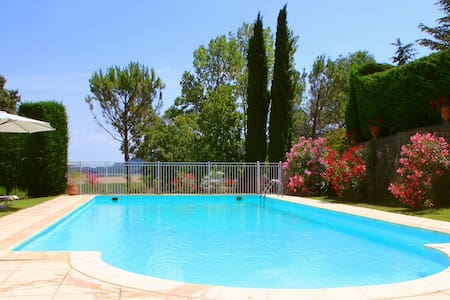 Charming french bastide with pool - Venejan
