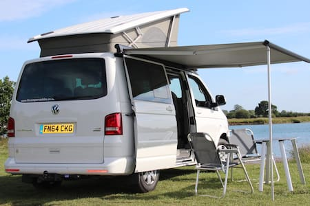 VW California SE 4 birth - Thurcaston