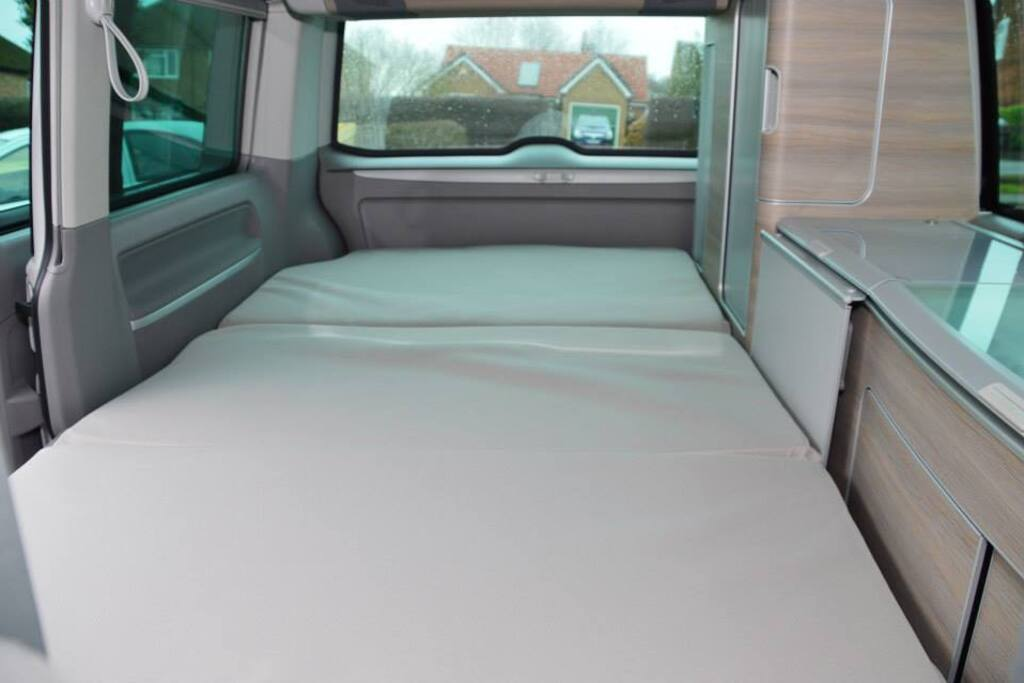 Downstairs double bed