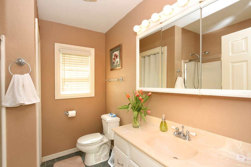 Full Private Bathroom next door