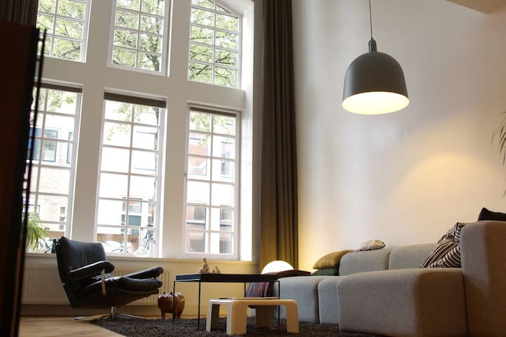 Spacious loft (Jaarbeurs/Centre) - Utrecht - Apartment