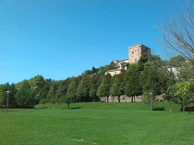 Casa Flora con giardino, vicina a.. - Santarcangelo di Romagna - 아파트