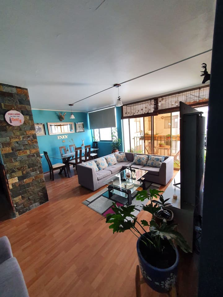 Habitacion en Dpto céntrico Arica, único dueño.