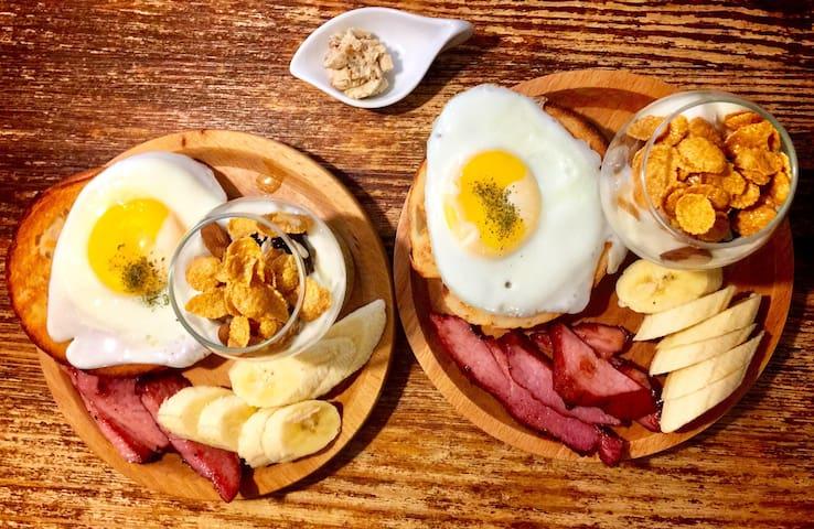 「有木」Room_W雙人房@附手作早餐