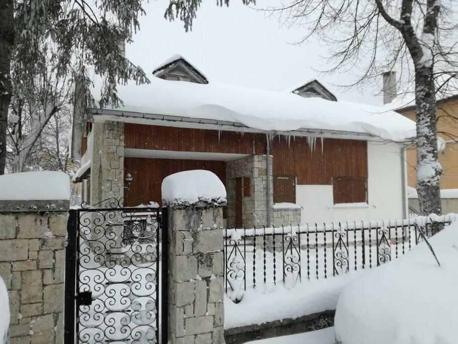 versione invernale, la magia della neve, quando ci viene a trovare