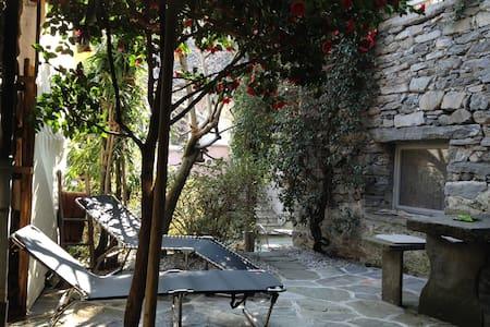 Rustico im Dorfkern von Verscio bei Locarno Tessin - Verscio