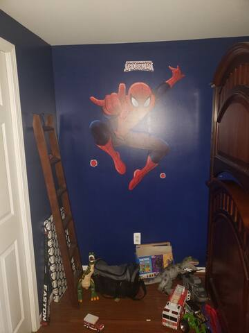 Kids room but while there at moms. Its yours!!