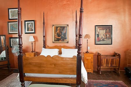 Wittedrift Manor House - Four poster queen room - Guesthouse