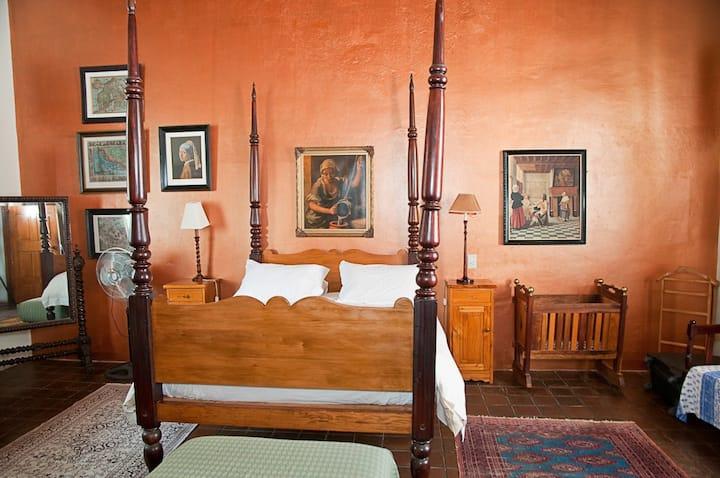 Wittedrift Manor House - Rachel mary Queen room