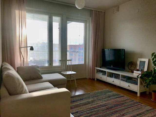 Cozy & peaceful one bedroom apartment in Espoo