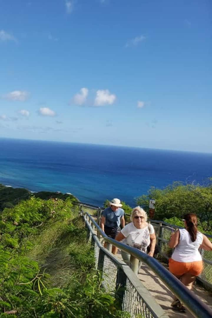 Diamond Head: Going UP!