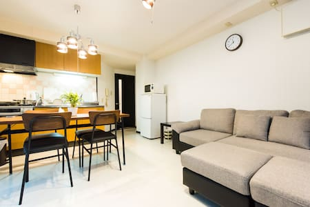 Only 2min sta! Luxury apt in Osaka!#3T10 - Naniwa Ward, Osaka