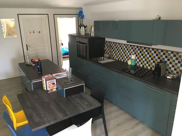 Appartement cosy sur les quais libournais