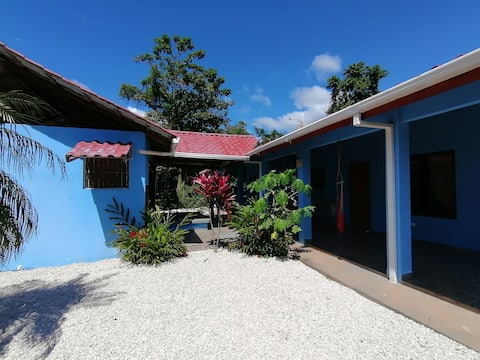 Beautiful and spacious blue house 1