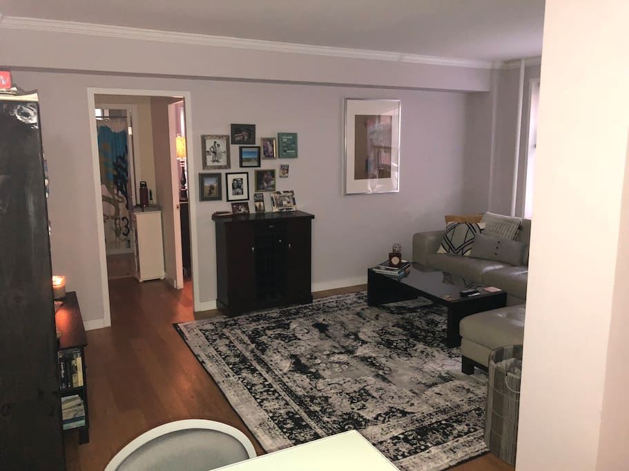 Living room area (new rug added June, 2018!)