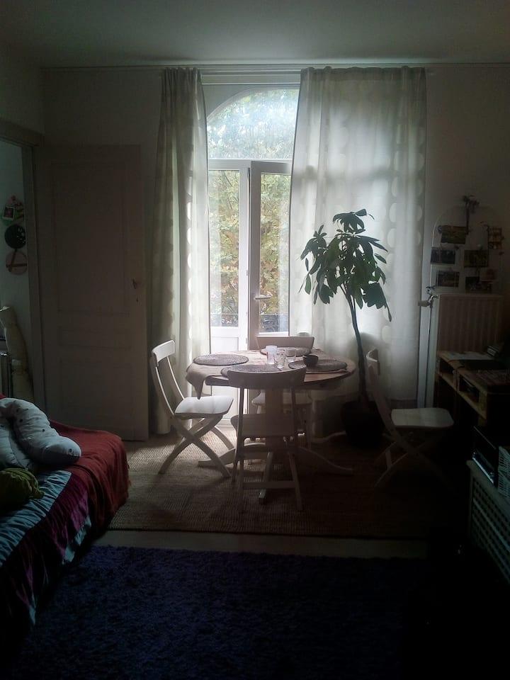 Superbe petit appartement avec balcon