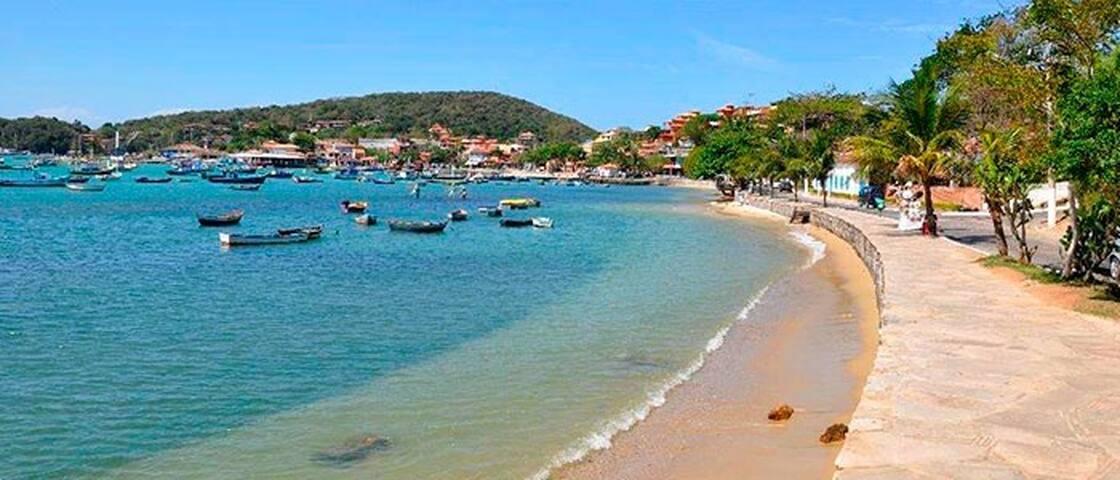 Próximo praias Armação,Ossos,Azeda e Azedinha.