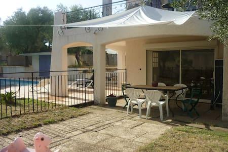 Appartement au RDC d'une villa avec piscine - Gallargues-le-Montueux - Apartemen