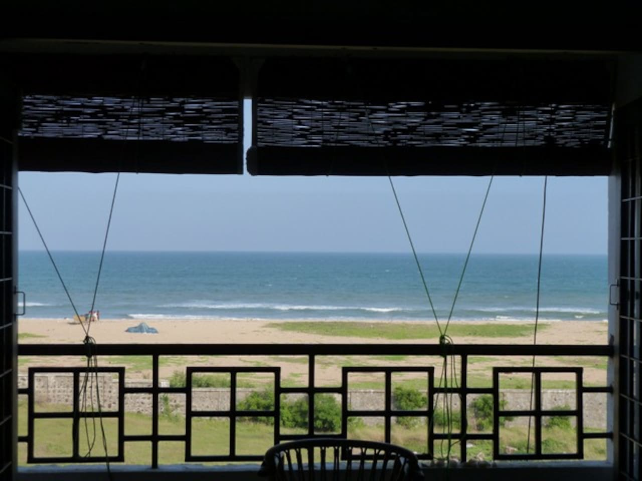 Bay of Bengal- Beachfront view from open living area