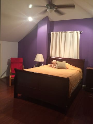 Lovely room near NYC and Airport - Hillside - บ้าน