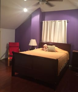 Lovely room near NYC and Airport - Hillside - Casa