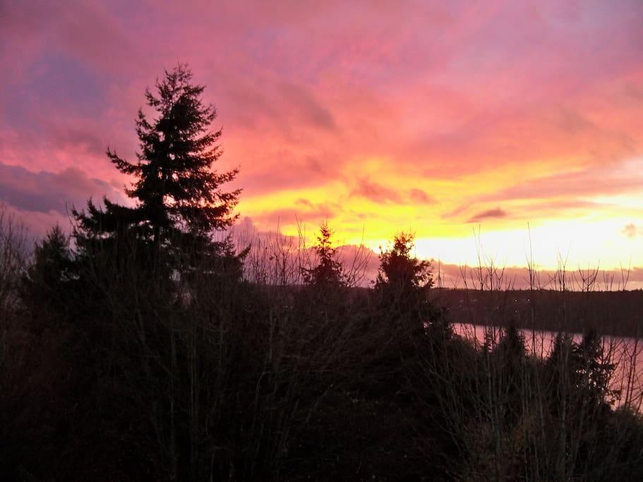 Beautiful Winter Sunsets