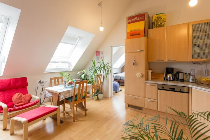 Lovely apartment with great view - Wien - Wohnung