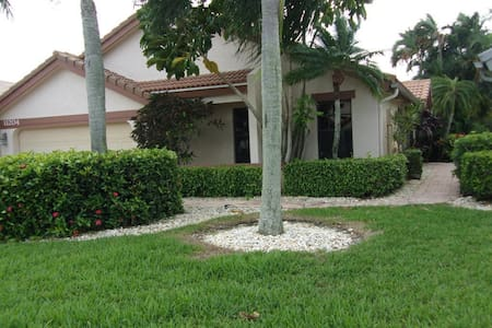 Beautiful turnkey pool home! In a great location! - Boca Raton - Haus