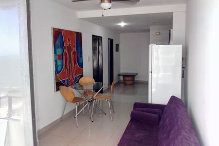 803 Beach Apartment  two balconies - Cartagena - Pis