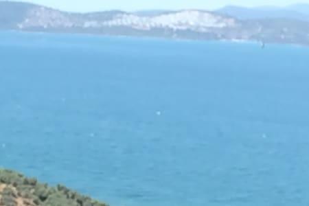 Otoparklı Deniz manzaralı - Güllük  - Apartamento