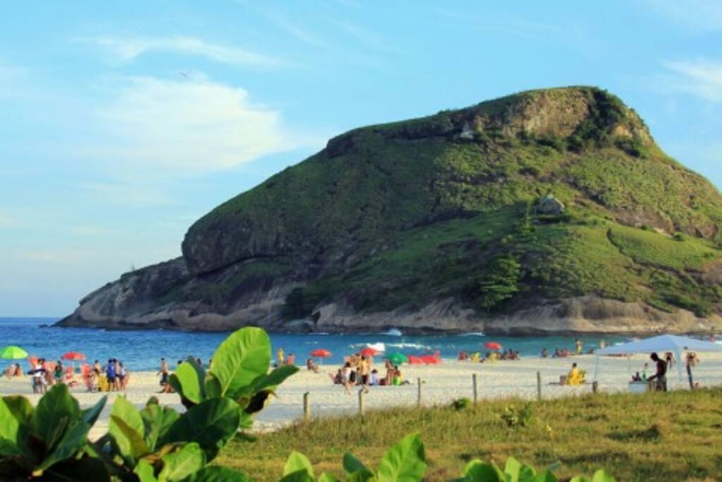 Praia do Recreio dos Bandeirantes.
