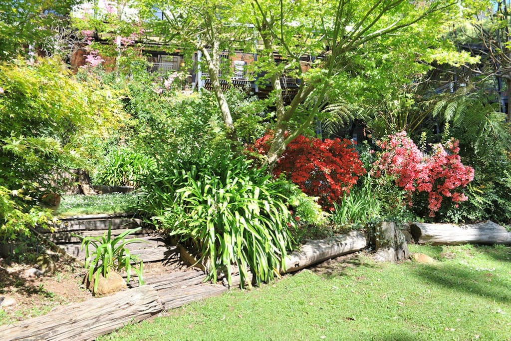 Back Garden of the Property