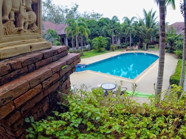 泰式风格3卧室泳池别墅#5