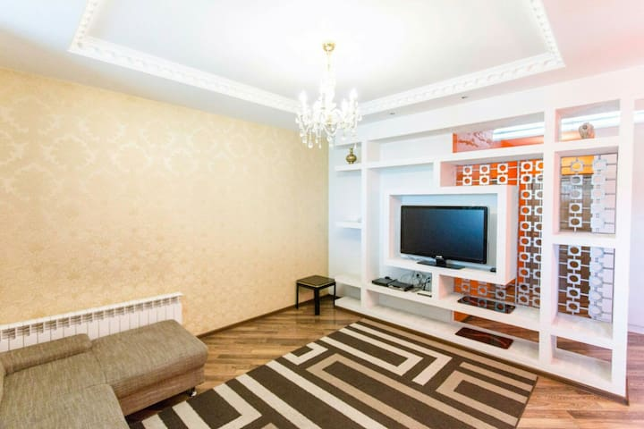 Cable TV and high speed internet connection is available every minute if your stay in the apartment