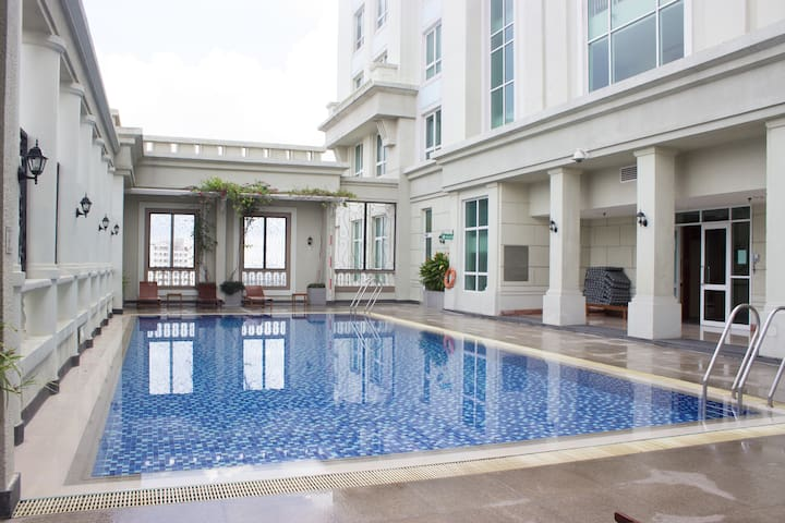 An Oasis in Saigon + FREE Rooftop Swimming Pool - Ho Chi Minh City - Leilighet