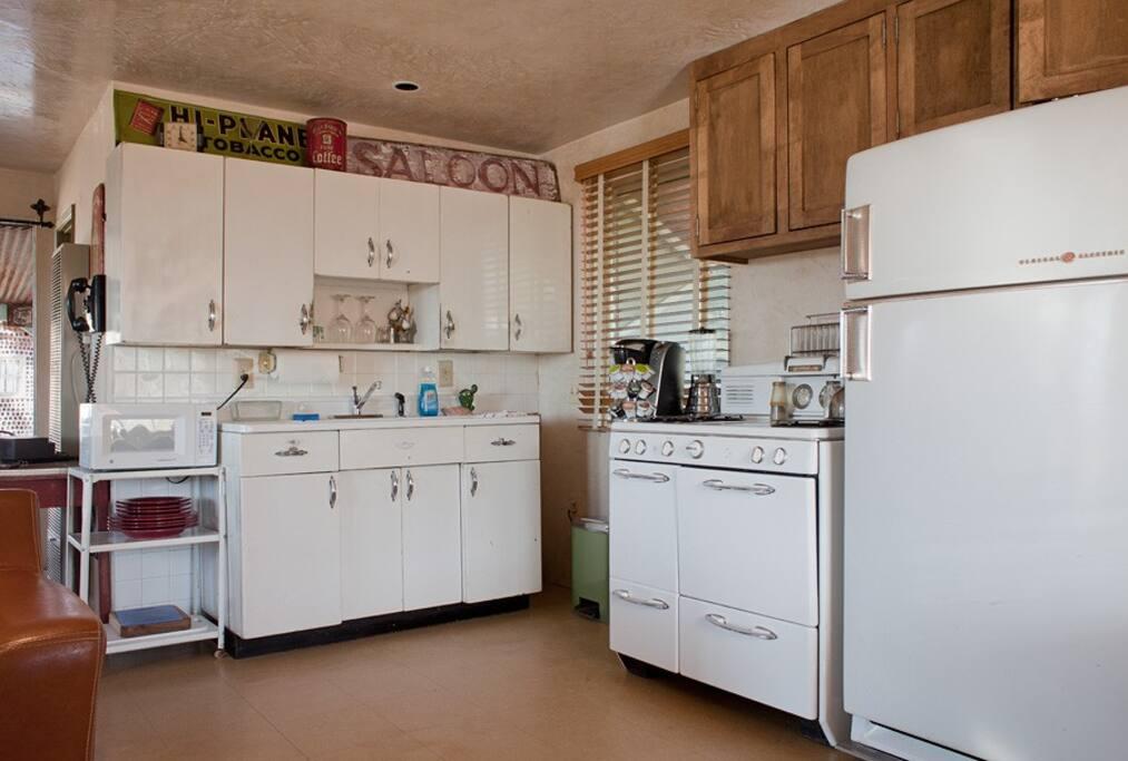 Original 50s kitchen