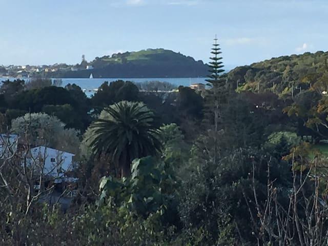 Main view north to Waitemata Harbour