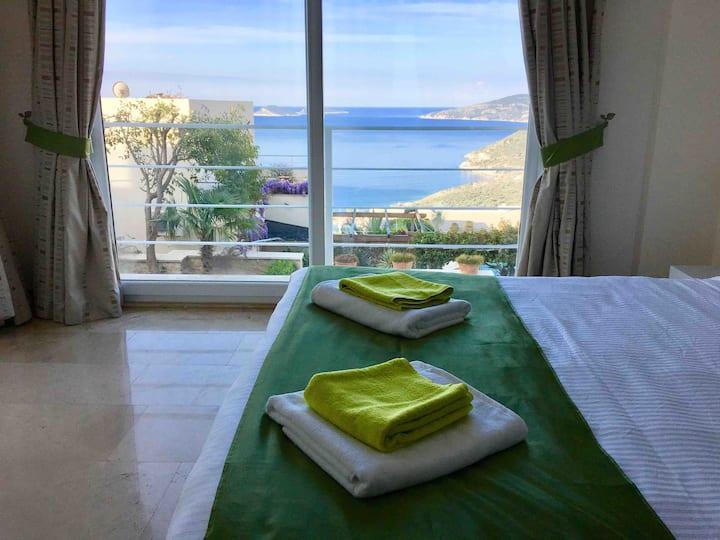 Jasmine Apartment • Kalkan with stunning sea views