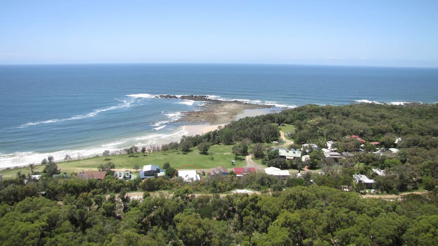 Point View Beach House - Diggers Camp - Huis