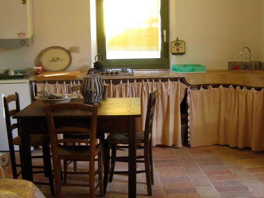 Piccolo cottage h user zur miete in castel del piano for Piani cottage piccolo lago