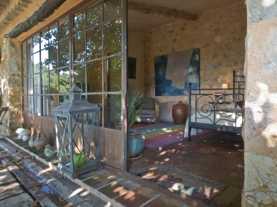 chambre de la terrasse 135 €