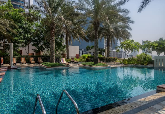 Fantastic burj khalifa view Downtown Masterbedroom - Dubai - Apartemen