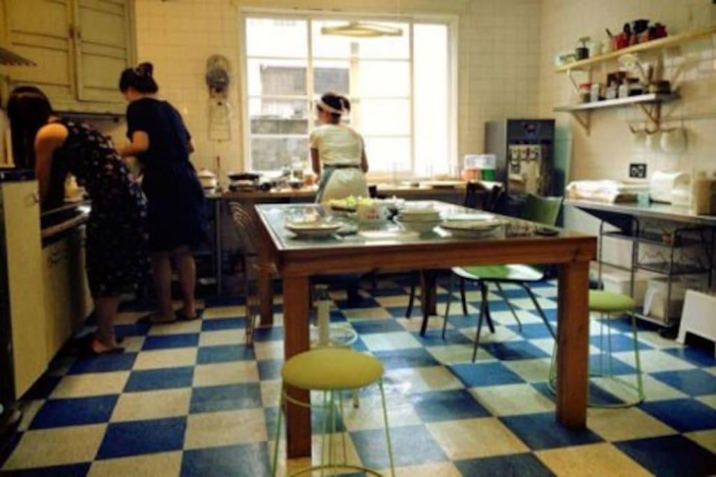 kitchen- Feel like home