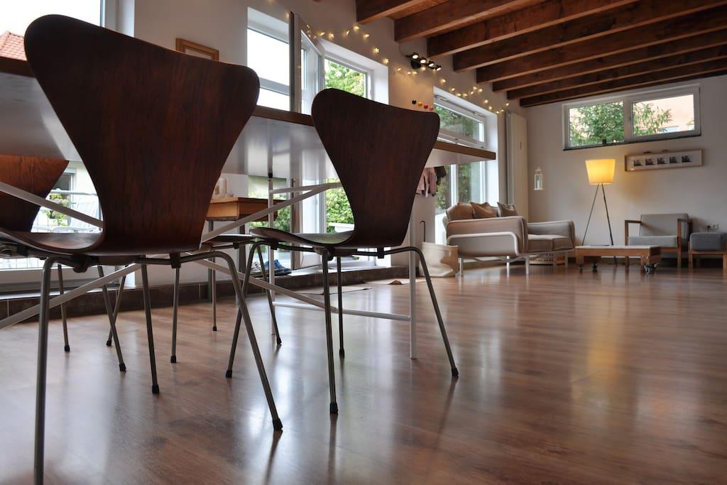 ein st ck italien in stuttgart lofts zur miete in stuttgart baden w rttemberg deutschland. Black Bedroom Furniture Sets. Home Design Ideas