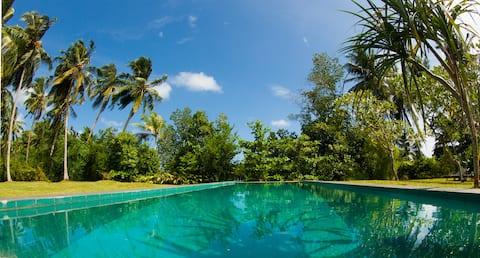 PJ's - Peaceful holiday villa in Hikkaduwa